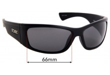 Tonic Shimmer Replacement Sunglass Lenses - 66mm Wide