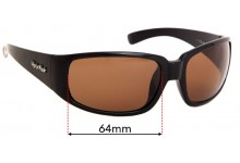 Sunglass Fix Replacement Lenses for Ugly Fish High Tide - 64mm