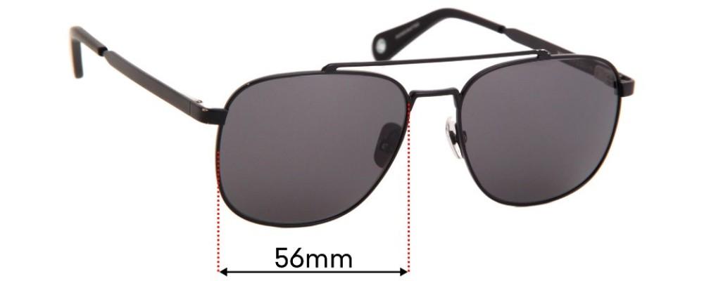Vilebrequin Auto Replacement Sunglass Lenses - 56mm Wide