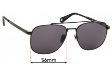 Vilebrequin Auto Replacement Sunglass Lenses - 56mm Wide