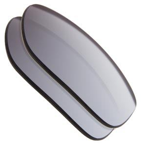 Silver Mirrored Replacement Lenses colour Example