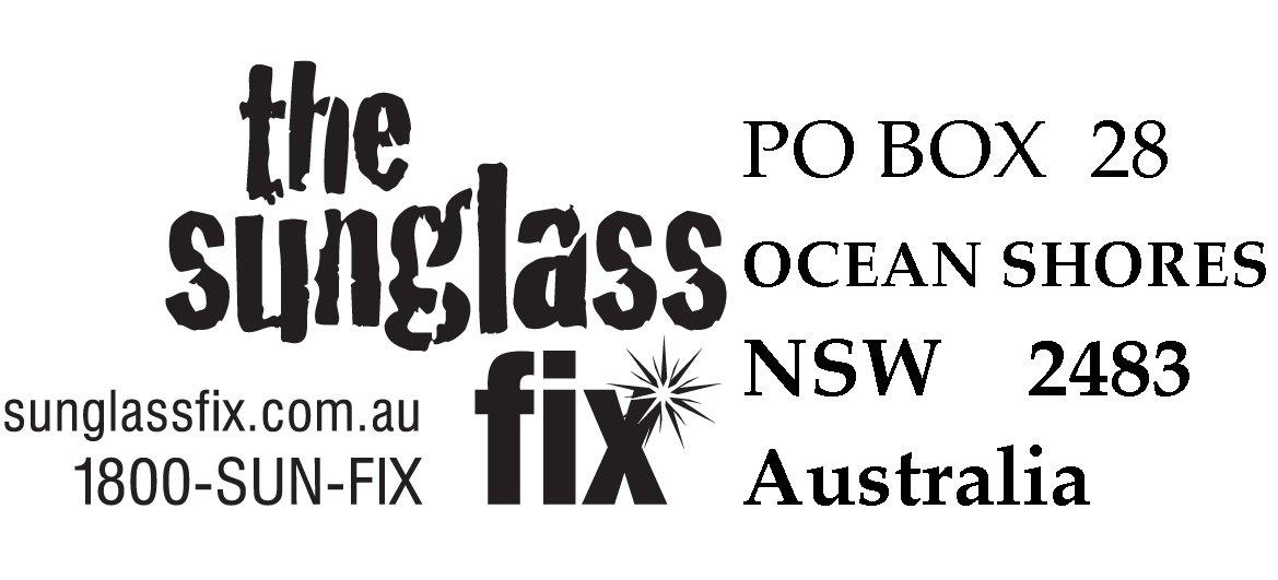 The Sunglass Fix  shipping for custom made lenses at the sunglass fix australia