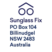 Mailing Label for Shipping Sunglasses into The Sunglass Fix for Custom Made Lenses