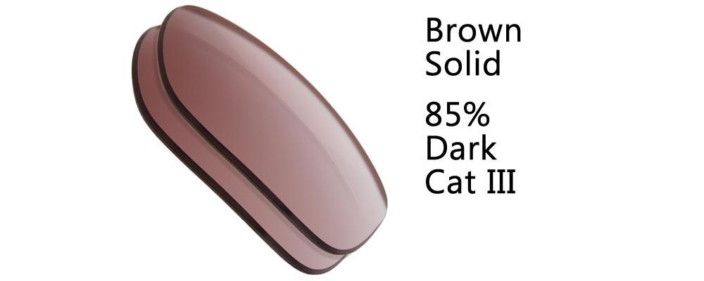 Brown  Solid Polarized and Regular Sunglass Replacement Lenses from The Sunglass Fix