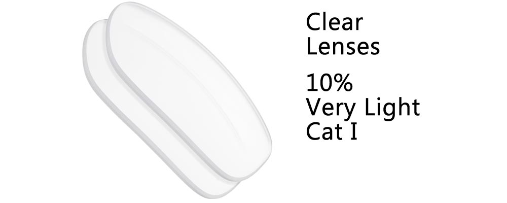 Clear Polarized and Regular Sunglass Replacement Lenses from The Sunglass Fix