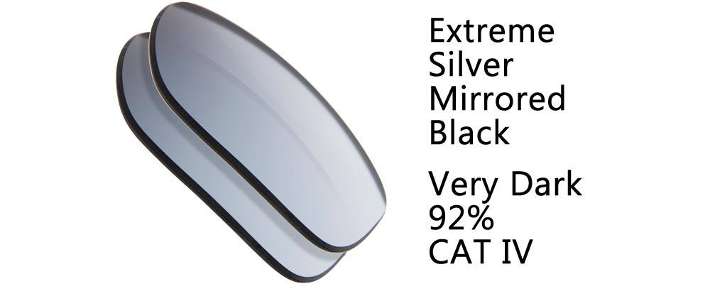 Extremely Dark Black Lenses CAT !V Regular Sunglass Replacement Lenses from The Sunglass Fix