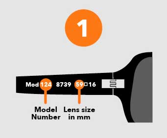 Need more help finding out what sunglasses you own so you can order the correct sunglass replacement lenses? Just click here and we'll take you to a lot more information on how to correctly identify what sunglass model and brand you have so you can find new sunglass lenses that will fit them.