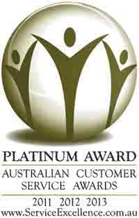 The Sunglass Fix Platinum Award for Excellence in Customer Service for Sunglass Lens Replacement Services