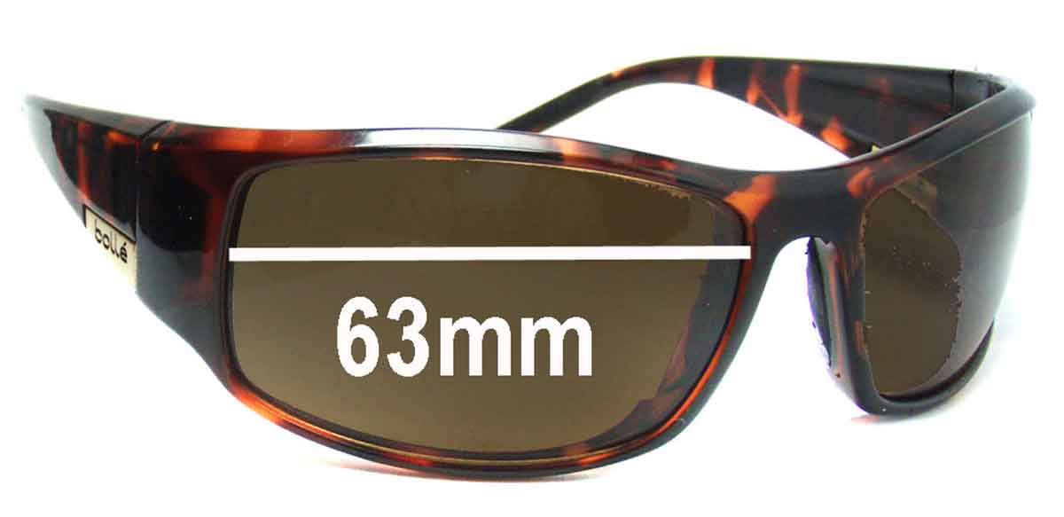 SFX Replacement Sunglass Lenses fits Bolle Fang 10699 60mm Wide