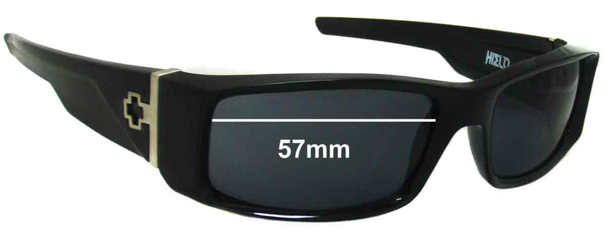 SFX Replacement Sunglass Lenses fits Spy Optics Astro 57mm Wide