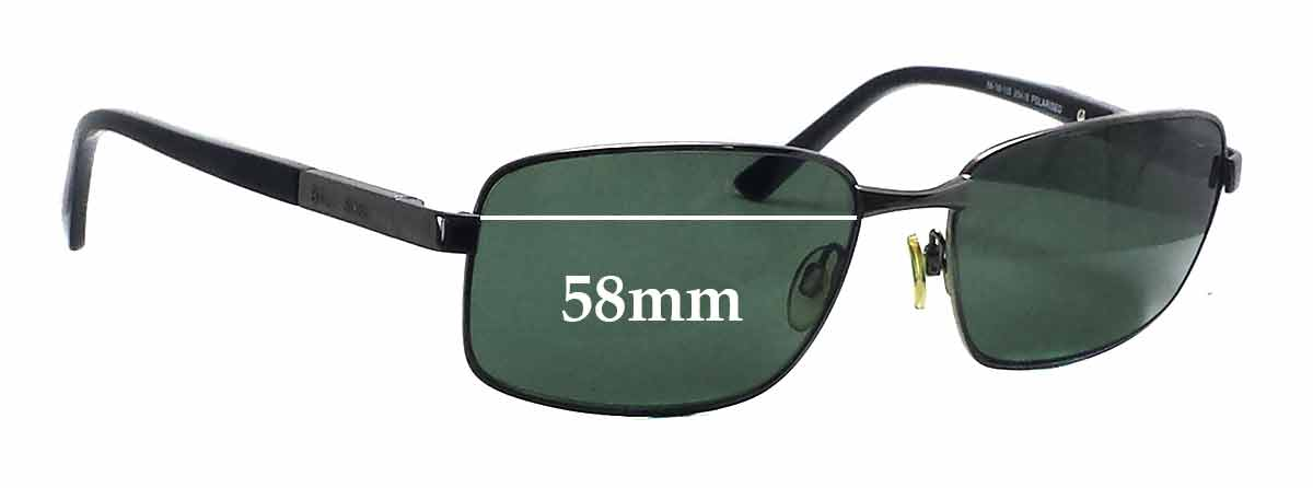 Bill Bass Ollie 25418 Replacement Sunglass Lenses - 58mm wide