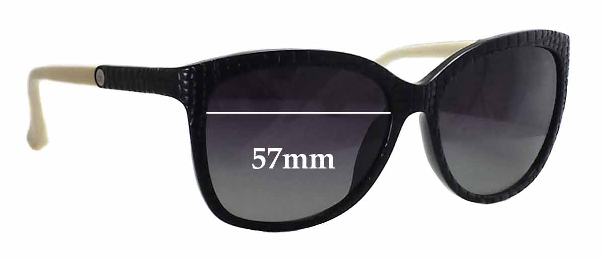 Calvin Klein 3152S Replacement Sunglass Lenses - 57mm wide