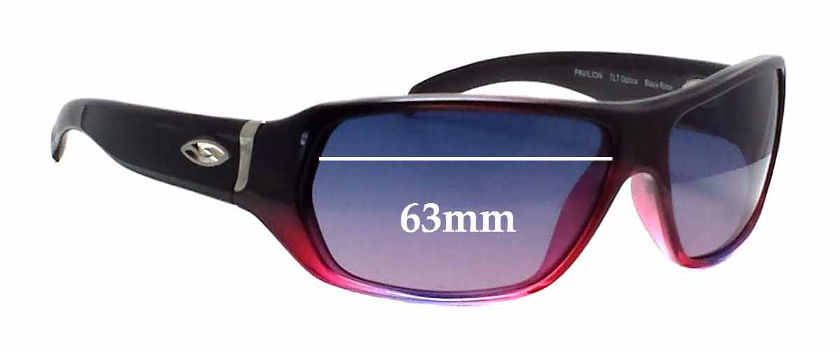Smith Pavilion Replacement Sunglass Lenses - 63mm wide