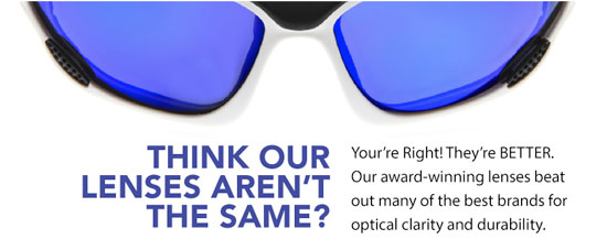 Upgrade your sunglasses to a better performing, scratch free lens.